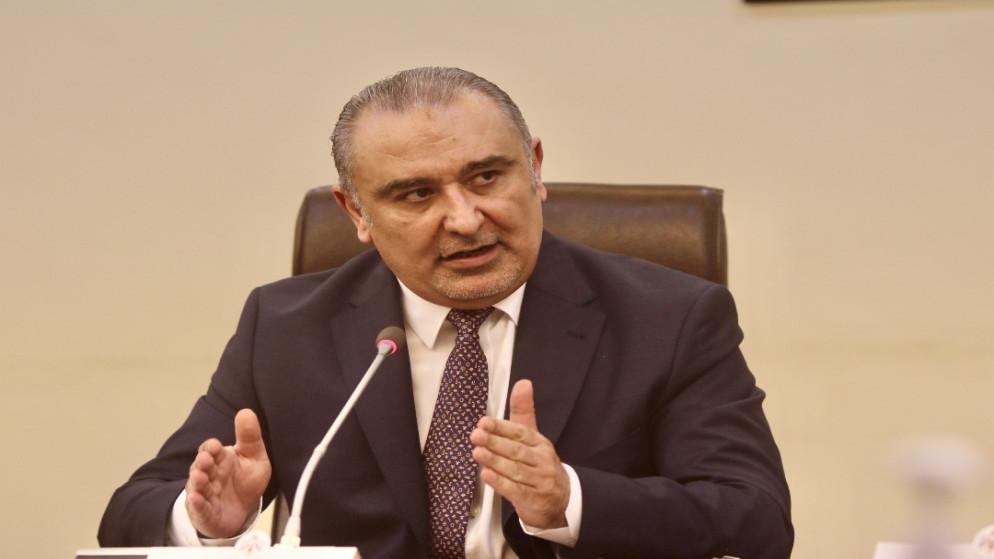 وزير التخطيط والتعاون الدولي ناصر الشريدة. (صلاح ملكاوي / المملكة)