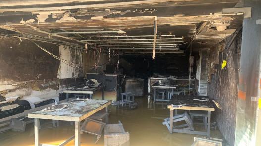 3 وفيات إثر حريق بمطعم في عمّان بسبب تسرب الغاز
