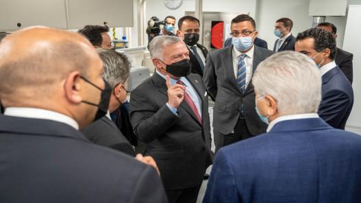 الملك: القطاع الطبي الأردني يتمتع بسمعة طيبة يجب المحافظة عليها