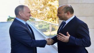 محادثات بين بينيت وبوتين في مدينة سوتشي الروسية