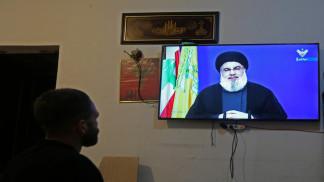 """حسن نصر الله: إسرائيل مخطئة إذا """"تصرفت كيفما شاءت"""" في منطقة النزاع البحري"""