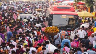 666 وفاة و16326 إصابة جديدة بفيروس كورونا في الهند