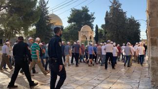 148 مستوطنا يقتحمون المسجد الأقصى