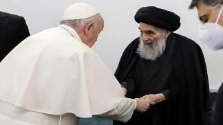 نداء من أجل السلام ويوم للتسامح بعد لقاء البابا والسيستاني